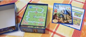 carcassonne board game unboxing