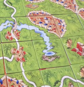What is a Eurogame carcassonne tiles