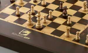 square off board during play