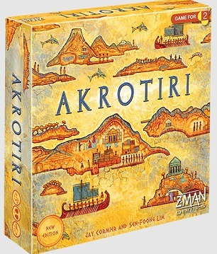 Top 12 Board Games For Couples akrotiri box