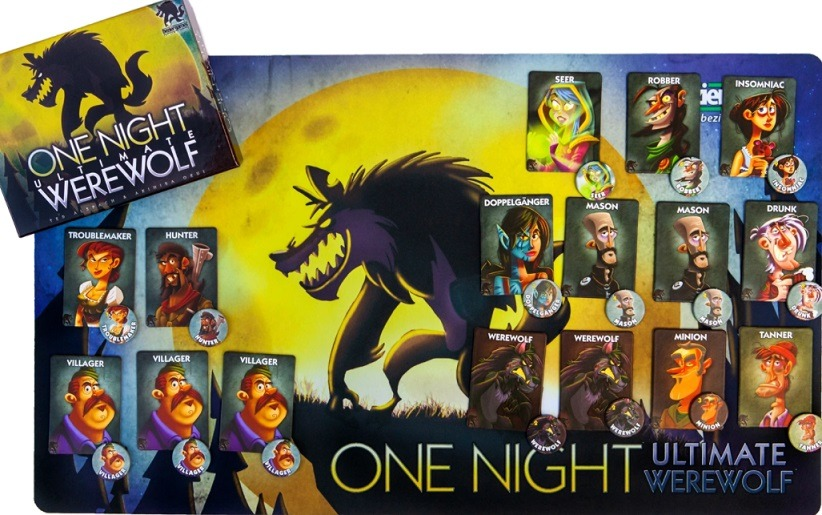 Best Party Board Games For Adults one night ultimate werewolf