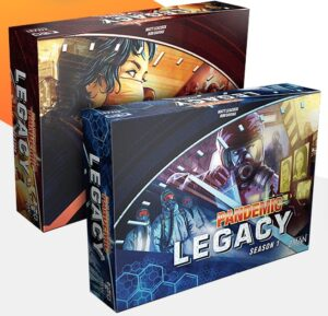 Top 12 Board Games For Couples pandemic legacy box