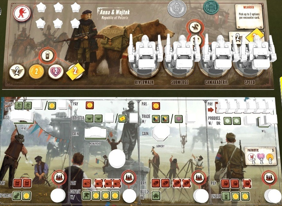 scythe board game review mats