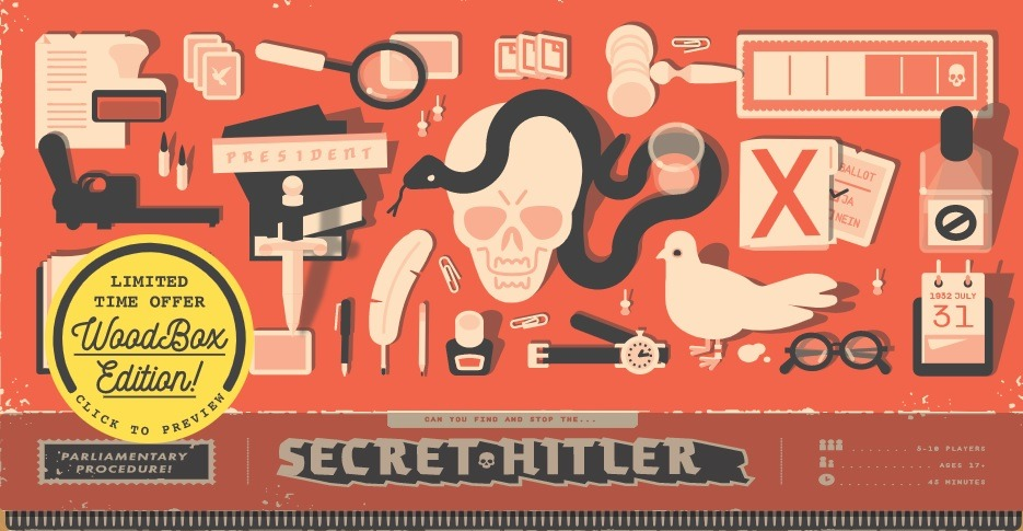 Best Party Board Games For Adults Secret Hitler