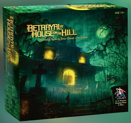 Best Halloween Horror Board Games betrayal at house on the hill box