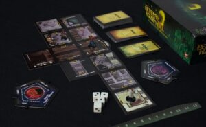 Best Halloween Board Games betrayal at house on the hill layout overview