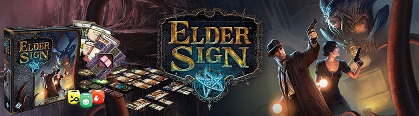 Best Halloween Horror Board Games elder sign banner