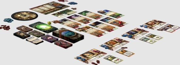 Best Halloween Horror Board Games elder sign layout overview