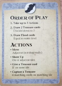 forbidden island board game review order of play and actions tips