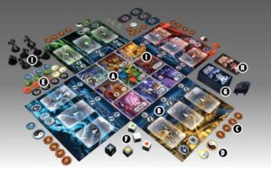 Best Halloween Board Games ghost stories layout overview