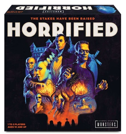 Best Halloween Horror Board Games horrified box