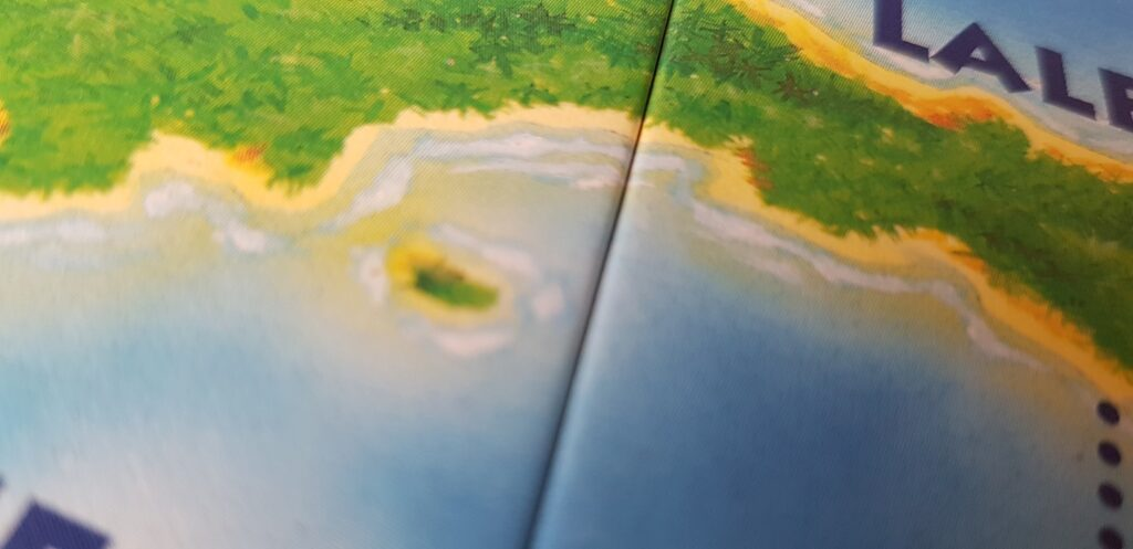 Kahuna Board Game Review beach detail