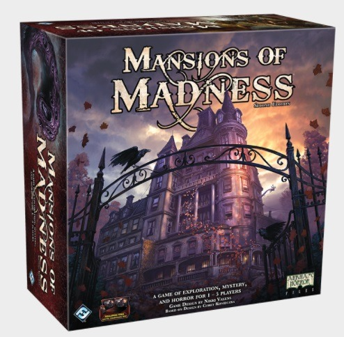 Best Halloween Horror Board Games mansions of madness box