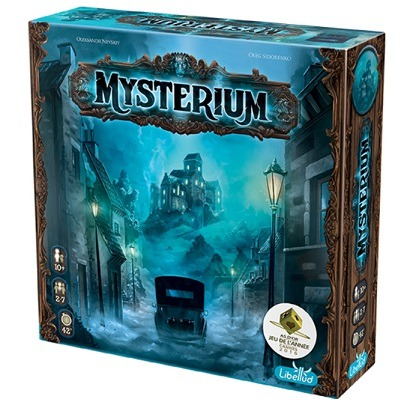Best Halloween Horror Board Games mysterium box