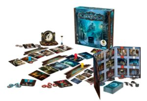 Best Halloween Board Games mysterium components