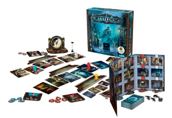 Best Detective Board Games mysterium components