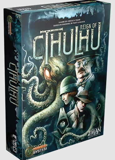 Best Halloween Horror Board Games pandemic reign of cthulhu box