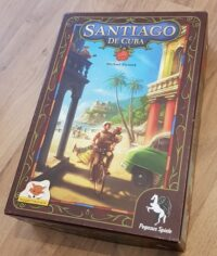 box of santiago de cuba board game