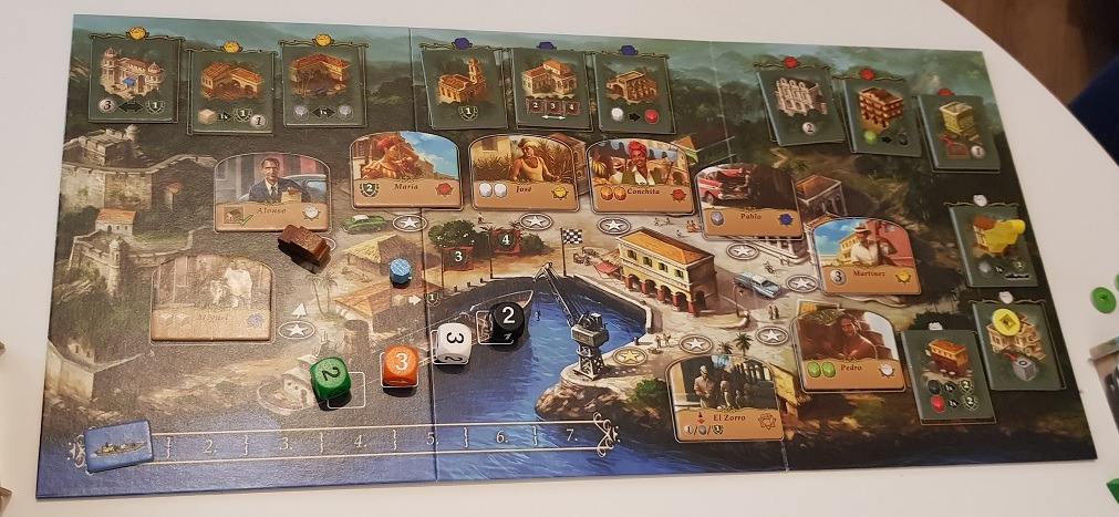 game board of santiago de cuba board game review