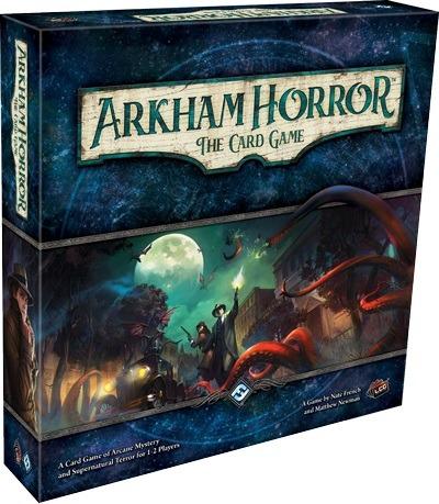 Best Adventure Board Games Arkham Horror the Card Game box