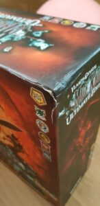 Mage Knight Ultimate Edition: Unboxing and First Impressions dameged box