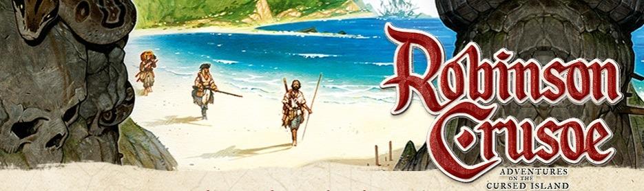 Best Adventure Board Games Robinson Crusoe Banner