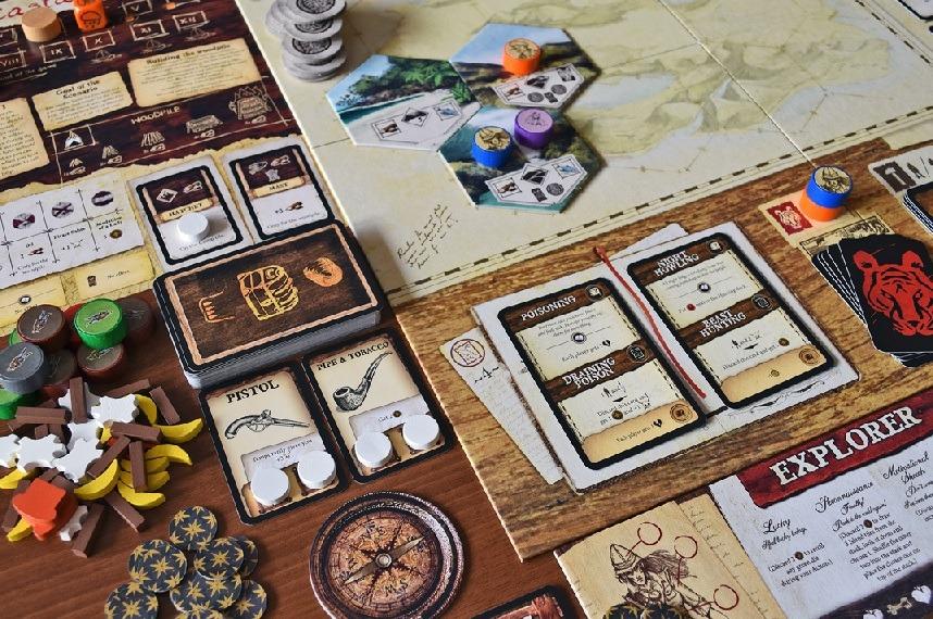 Best Adventure Board Games Robinson Crusoe Board