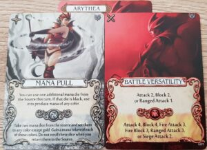 mage knight arythea action cards