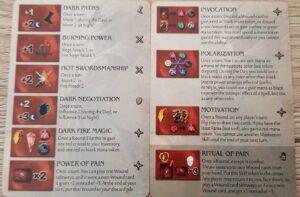 mage knight arythea skills