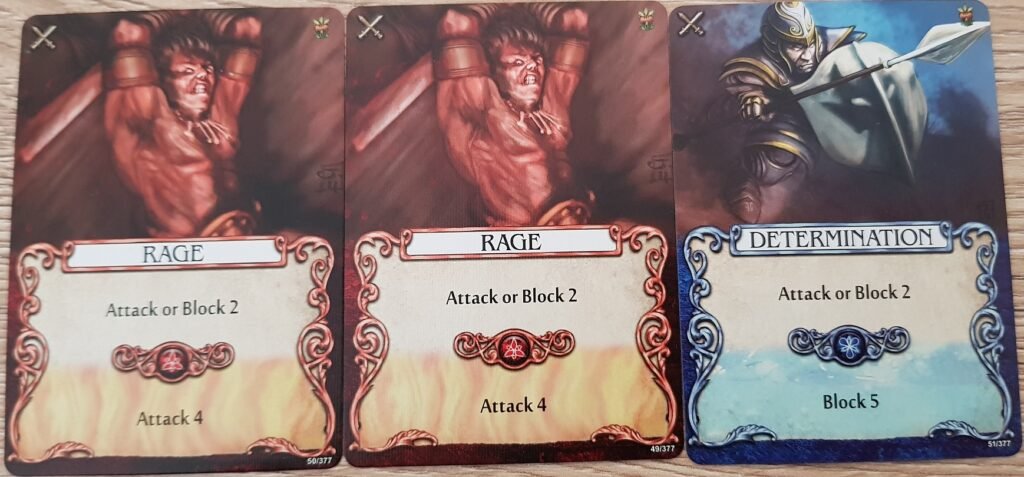 mage knight combat cards