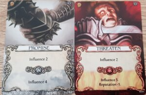 mage knight influence cards
