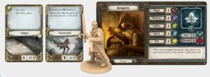 The Lord of the Rings: Best Lord of the Rings Board Games Journeys in Middle-earth Aragorn