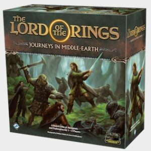 The Lord of the Rings: Best Lord of the Rings Board Games Journeys in Middle-earth Box