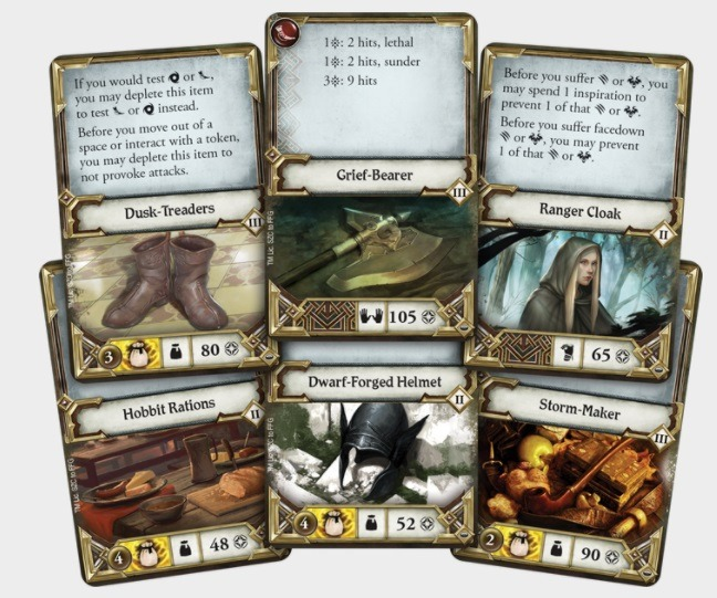 The Lord of the Rings: Best Lord of the Rings Board Games Journeys in Middle-earth Cards