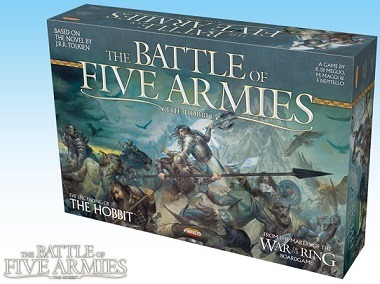 Best Lord of the Rings Board Games The Battle of Five Armies Box