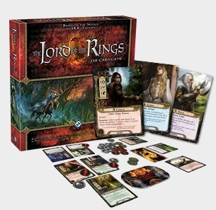 Best Lord of the Rings Board Games The Lord of the Rings: The Card Game Box