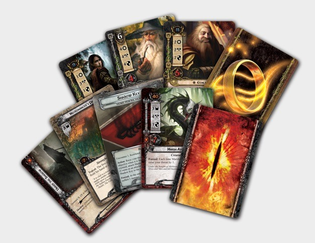 Best Lord of the Rings Board Games The Lord of the Rings: The Card Game Cards