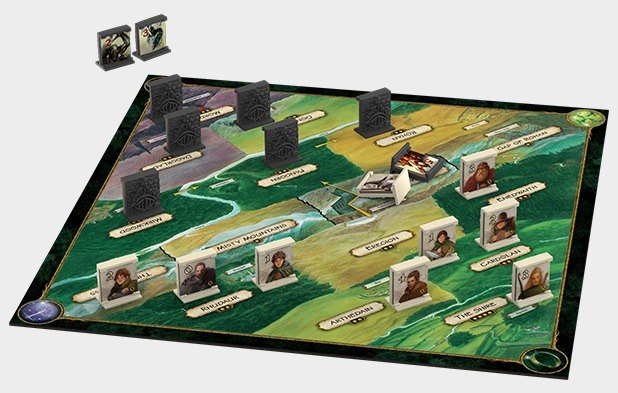 Best Lord of the Rings Board Games Confrontation Board