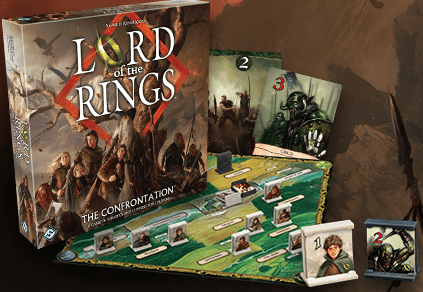 Best Lord of the Rings Board Games Confrontation Box