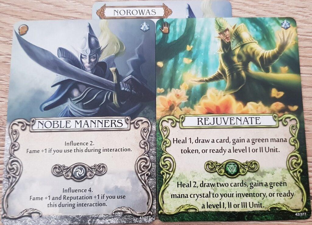Mage Knight Heroes norowas skills
