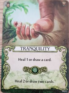 mage knight tranquility card