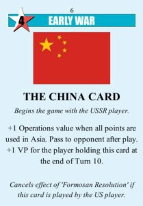 Twilight Struggle Review Board Game and Video Game china card