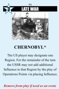 Twilight Struggle Review Board Game and Video Game chernobyl