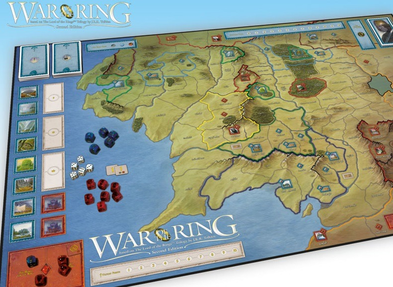 Best Adventure Board Games War of the Ring Second Edition Board