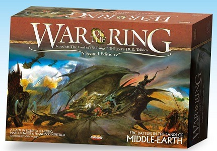 Best Lord of the Rings Board Games War of the Ring Second Edition Box