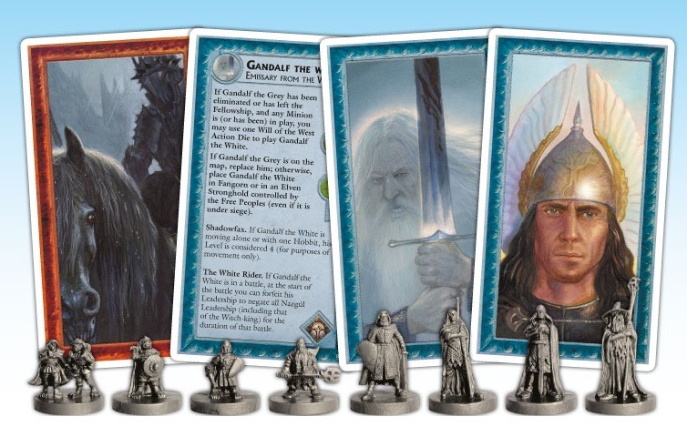 Best Adventure Board Games War of the Ring Second Edition Cards