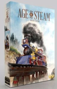 Best Train Board Games age of steam box