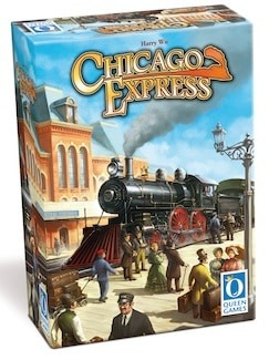 Best Train Board Games chicago express box