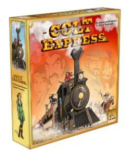 Best Train Board Games colt express box