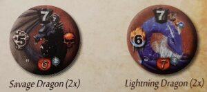 mage knight shades of tezla elementalist faction draconum